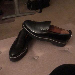 Black Franco Sarto Shoes. Size 91/2